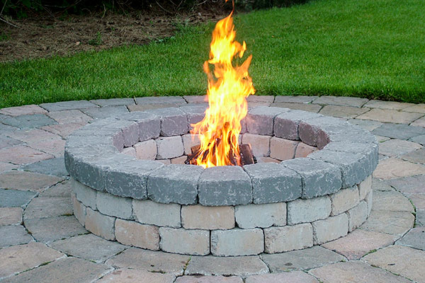 Chateau Firepit w charcoal ring 1