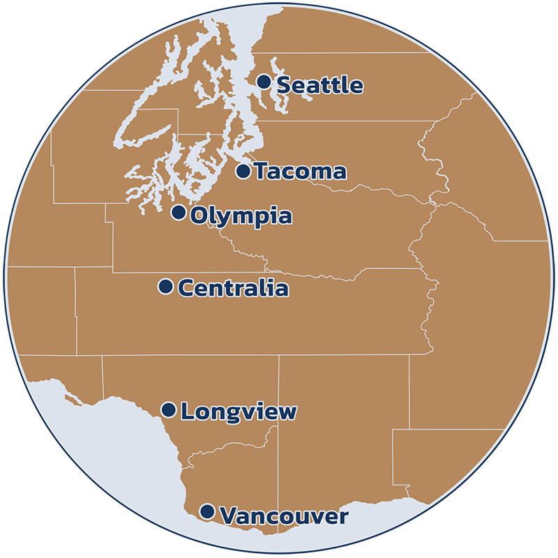 Cities we offer paver installation map
